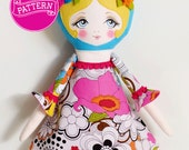 Poppy - PDF Pattern Cloth Doll