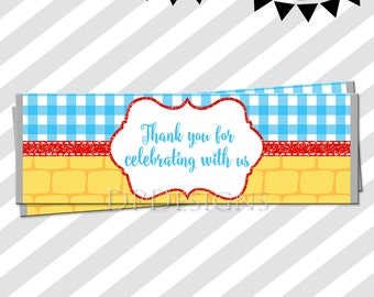 Candy Bar WRAPPERS Instant Download Mickey Printable