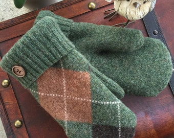 Smittens, Sweater Mittens, upcycled wool sweater mittens, warm wool mittens.