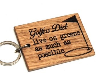 Golfers Keyring - Golf Gifts For Men - Boyfriend Gift - Golf Keychain - Golf Keyring - Birthday Gift - Gift For Men - Gifts For Golfers