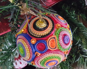 Multicolor Christmas ornament