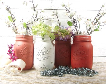 Bridal Shower Table Decor, Rustic Centerpiece, Bridal Shower Centerpiece, Mason Jar Decor, Bridal Shower Decorations, Wedding Decor