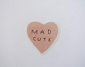 mad cute - sticker
