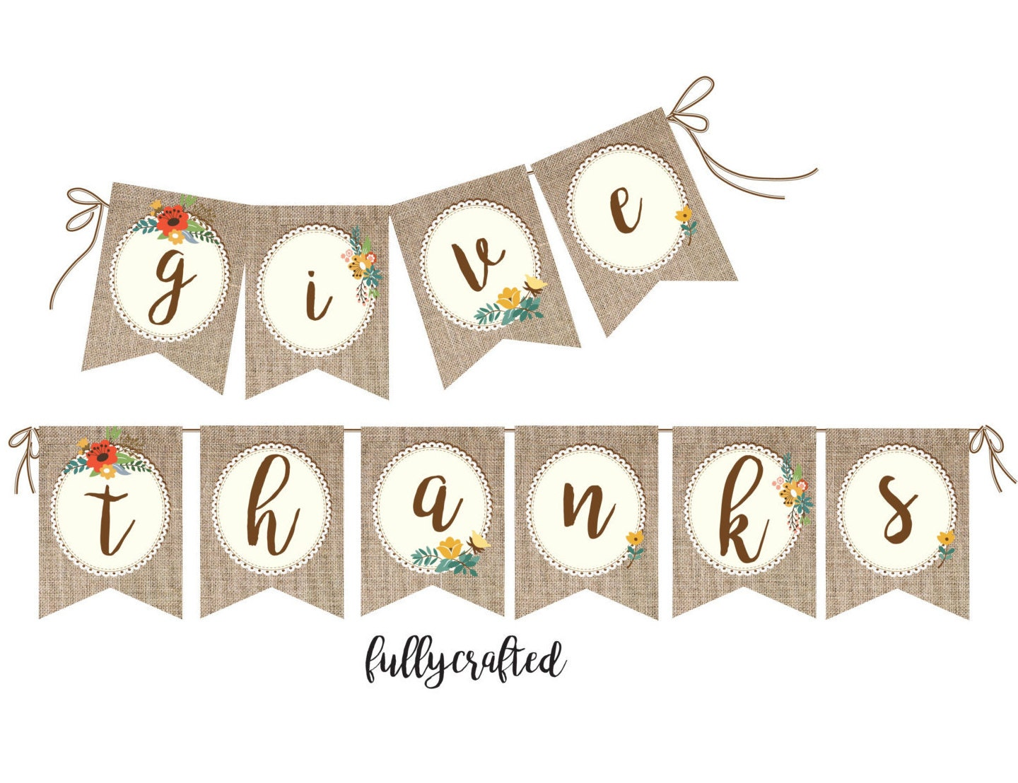 This is an image of Dynamite Give Thanks Banner Printable