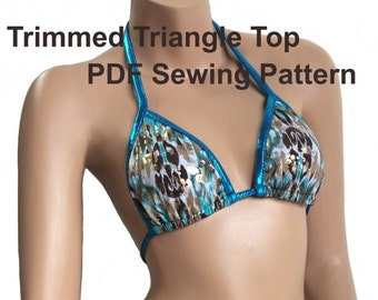 Trimmed Triangle Top (8 Sizes).