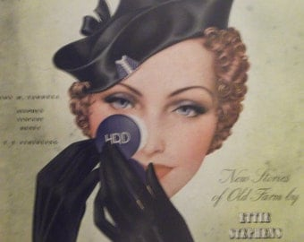 DELINEATOR MAGAZINE COVER September 1934 Issue