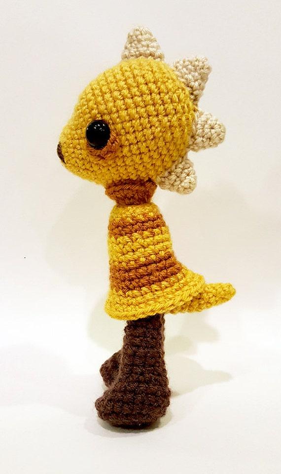 Undertale Amigurumi Pattern : Monster Kid Amigurumi Doll