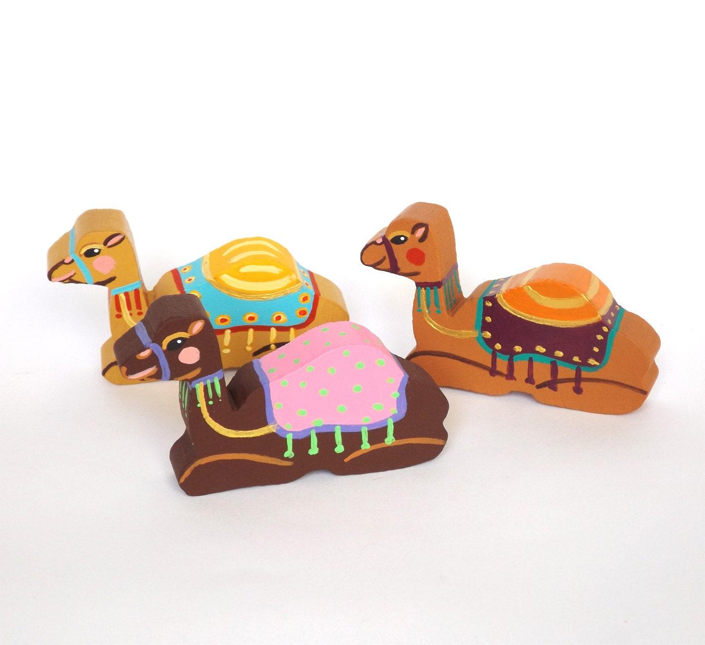 camel decor camel ornament childrens nativity set for kids