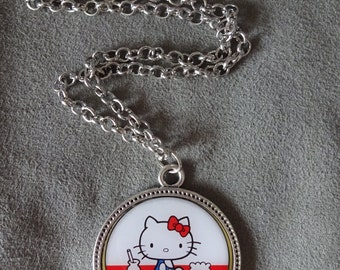 Hello Kitty 40th Anniversary Pendant with Chain