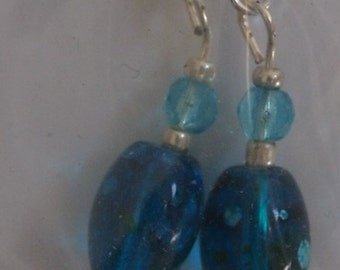 005  Crystals and blue/black beads