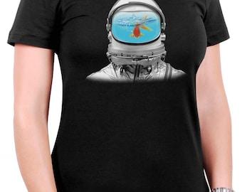 Fish Tank Astronaut Women's T-Shirt