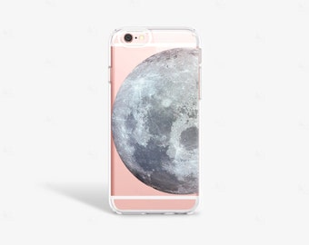 moon iPhone 7s Case Transparent iPhone 7S Plus Case Moon iPhone Moon iPhone Case Samsung Galaxy Note 4 Space iPhone Case Moon Phone Cases