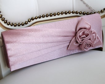 Bridesmaids Handbag, Blush Pink Bridesmaid Clutch, Bridesmaid Gift, Wedding Bag, Bridal Handbag, Bridal Clutch, Evening Handbag, Pink Bag