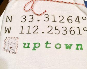 Uptown AZ Coordinates - Tea Towel