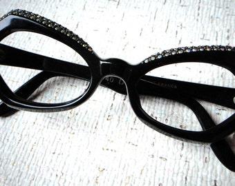 1950s 1960s vintage eyeglasses frame new old stock