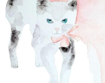 Watercolor print original