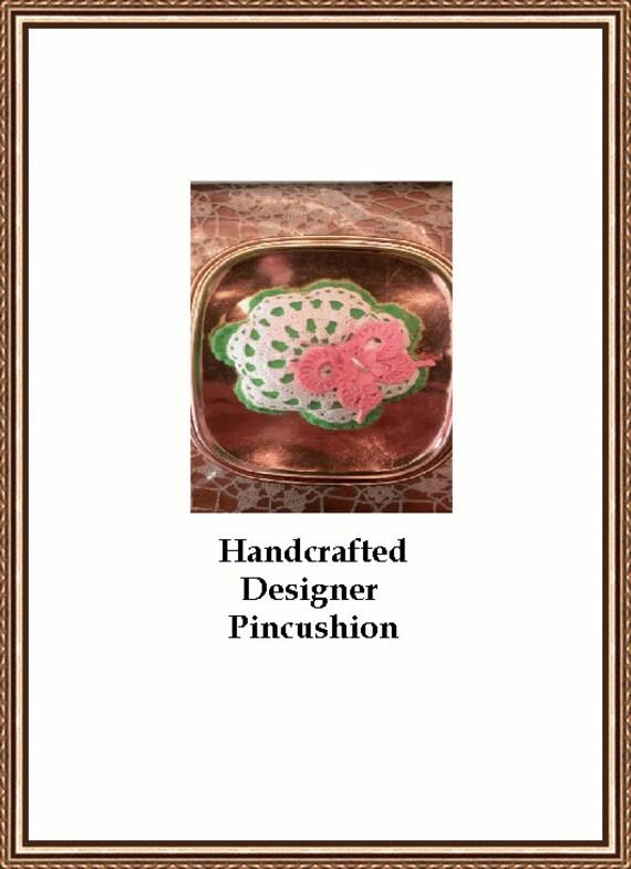Designer Pincushion  One Of A Kind Design
