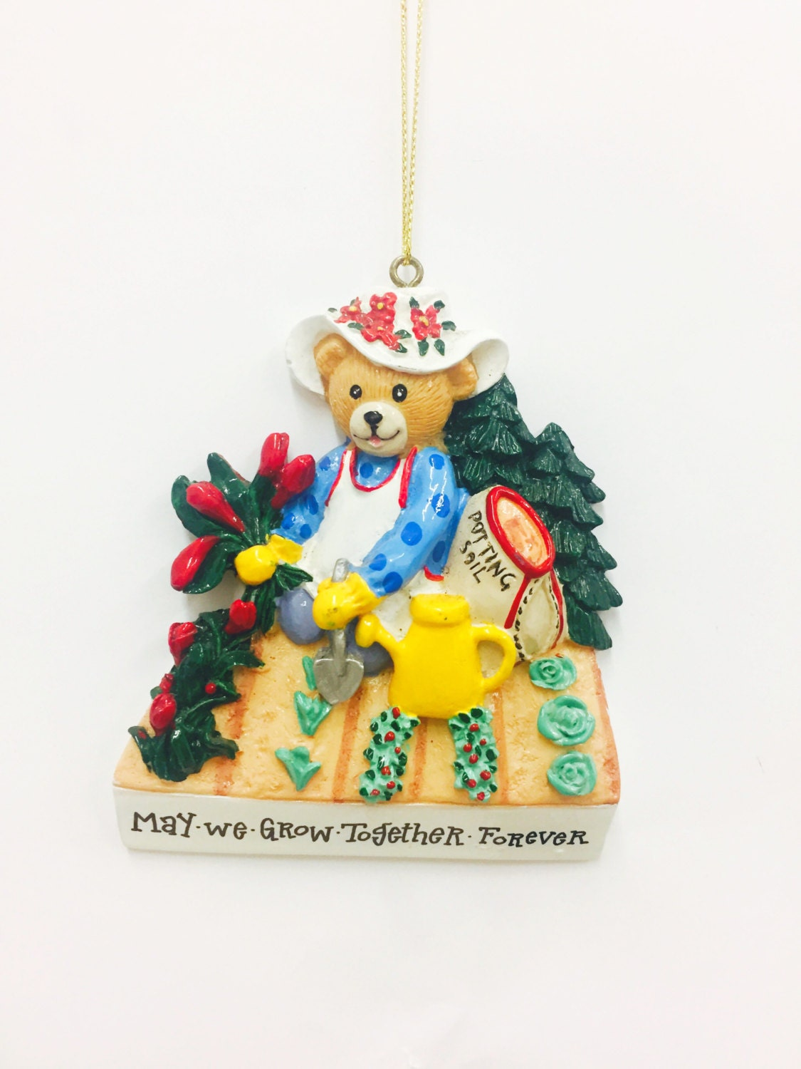 Clearance gardener christmas ornament gardening for Christmas ornaments clearance