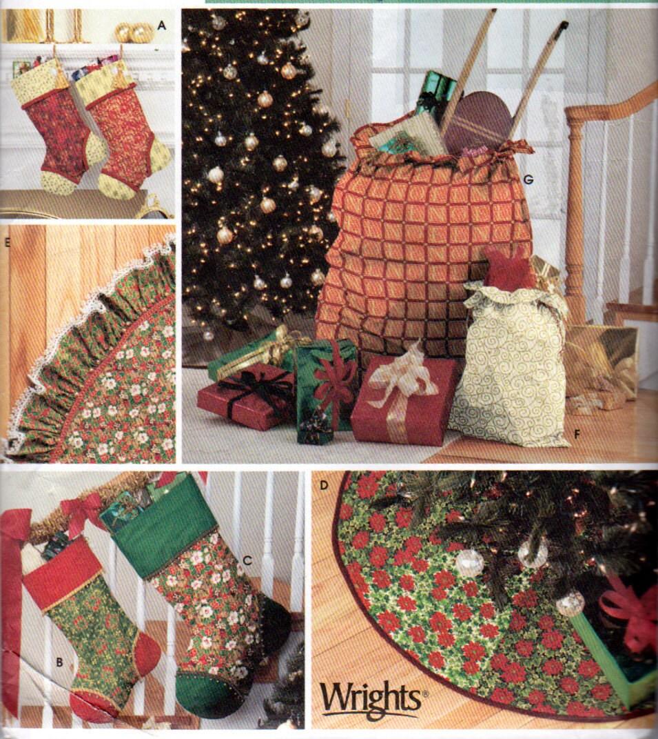 simplicity 4842 christmas tree skirt patterns christmas. Black Bedroom Furniture Sets. Home Design Ideas