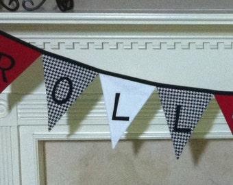 Alabama Roll Tide Football Fabric Banner