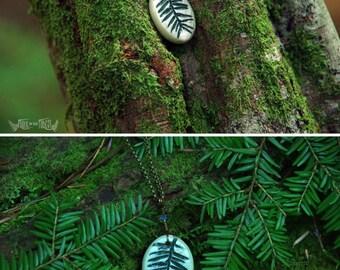 Eastern Hemlock Necklace