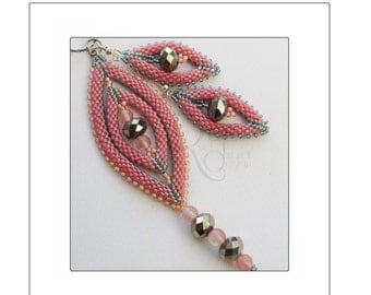 Oval Portals 3- piece set including: pendant, bracelet and earrings.