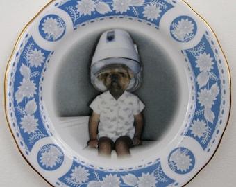 Toby - Altered Vintage Plate