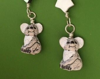 Koala Hoku Earrings