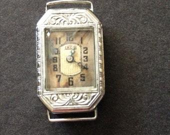 Vintage Ladies Laco Swiss 17 Jewel