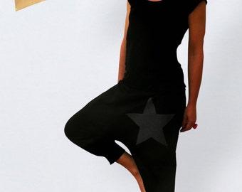 Harem pants for women plus size, black pants women plus size, XL harem pants, harem pants plus size women, plus size clothing women trendy,