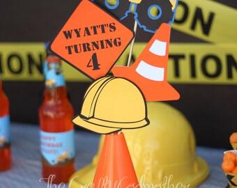 Tonka Dump Truck Construction Birthday Party Centerpiece