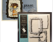 Mansfield Frame die set - Memory Box dies - Easter,Spring, All Occasion for handmade cards - use in Cuttlebug,Sizzix, and others