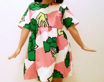 Handmade Broccoli Kawaii Dress Size S/M/L