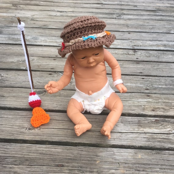 baby fishing hat newborn fishing hat newborn fisherman hat