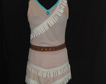 Pocahontas inspired complete running outfit