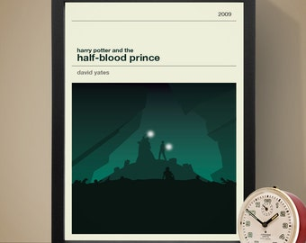 Harry Potter and the Half-Blood Prince Movie Poster - Movie Poster, Movie Print, Film Poster, Harry Potter Poster