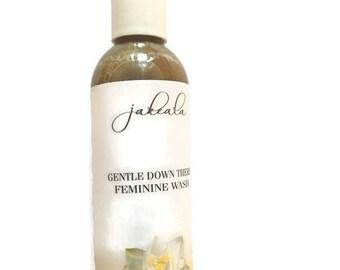 Feminine Wash Down There Natural Yoni Menstrual Cleansing Soap Apple Cider Vinegar Women Vegan Non Vegan Liquid