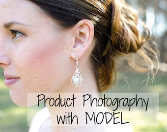 Product Photography WITH Model - 3 ITEMS