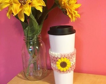Sunflower Field - Sunflower Coffee Cozy