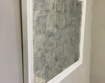 Decorative Gesso Mirror Frame