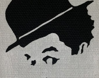 Charlie Chaplin Custom Patch