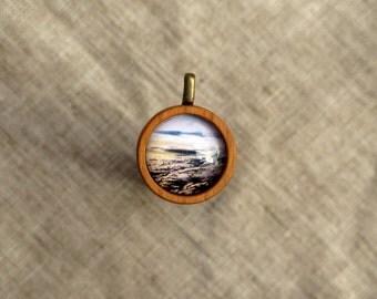 Grey Skies - Photo Pendant Necklace