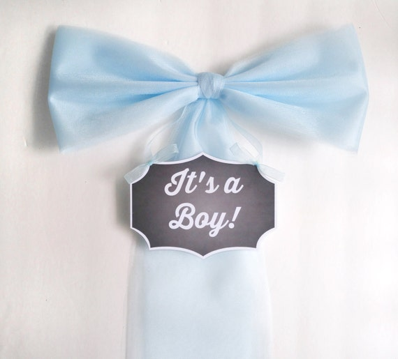 Boy baby shower decoration hospital door by darlingchicdesign for Baby boy hospital door decoration