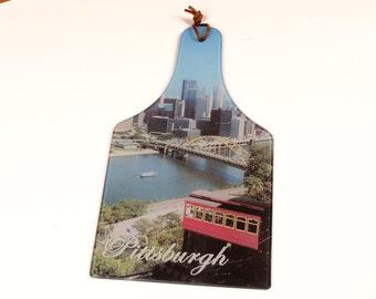 Pittsburgh Glass Cutting Board
