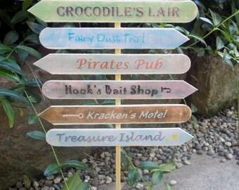 Mermaid Cove Sign Post