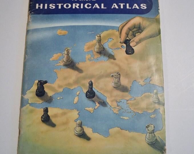 Vintage Hamond Historical Atlas 1970 World Maps PanchosPorch