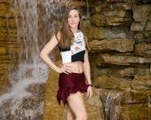 Artemis Ruffle Shorts // Eco-Friendly BAMBOO Fabric!
