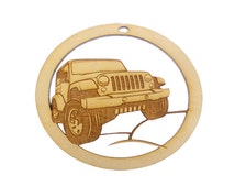 Jeep Ornament - Jeep Lover Christmas Gift - Jeep Gift Topper - Jeep Gifts - Jeep Ornaments - Personalized Free
