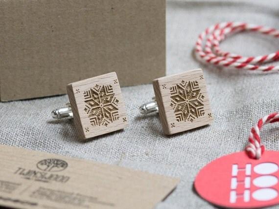 XMAS GIFT  Wood Cufflinks. Personalized CuffLinks. Laser Engraved Monogrammed Initial Wooden Cufflinks. Сustom cufflinks. Groomsmen Gift