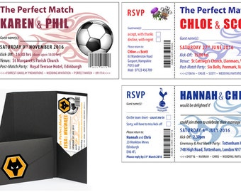 Sports Ticket Invitations